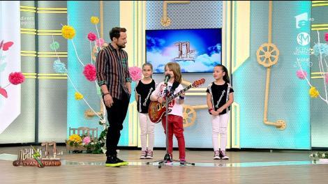 David Dobrincu, un mic geniu al muzicii: Mă pricep foarte bine să cânt la chitară, dar și la dans
