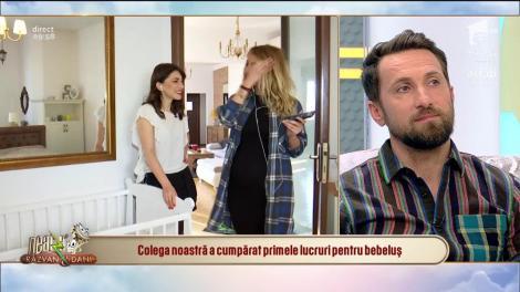 Flavia, o viitoare mămică extrem de fericită: Sper că de la Dani să ia simțul umorului, iar de la Răzvan tot!