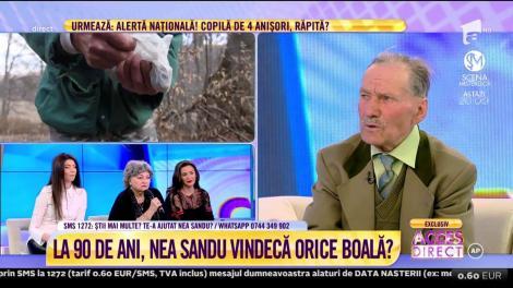 """Ceaiurile lui Nea Sandu Drăgănoiu au efecte miraculoase: """"Vindec boli de gastrită, ficat, hemoroizi, stomac și plămâni''"""