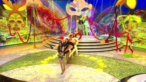 Ritmurile de samba au cuprins Scena Misterelor! Cine e misterioasa dansatoare de la Carnavalul de la Rio?
