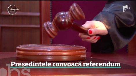 E oficial! Klaus Iohannis va convoca referendum pe Justiție pe 26 mai, în aceeaşi zi cu alegerile europarlamentare