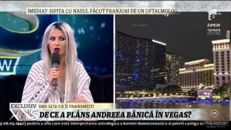 """Andreea Bănică, despre experienţa trăită în SUA: """"Am jucat şi la păcănele în Las Vegas"""""""
