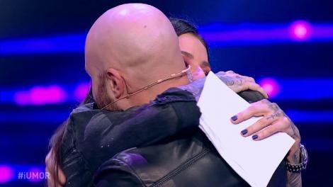 Mihai Bendeac s-a sărutat cu Roxana Vancea pe scena iUmor