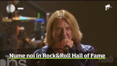 Nume noi în Rock&Roll Hall of Fame