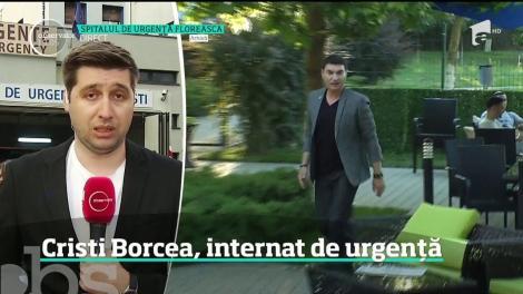 Cristi Borcea a ieșit din închisoare din cauza problemelor de sănătate! Omul de afaceri este internat, sub pază, la Spitalul Floreasca