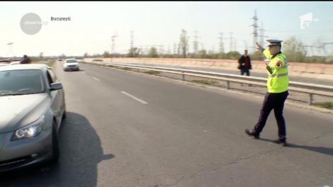 Sute de radare pe şoselele din toată ţara! Polițiștii au ieșit la vânătoare de șoferi vitezomani