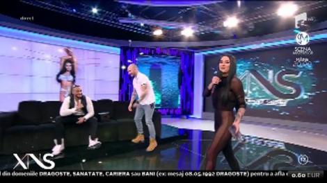 """Daniela Crudu, din nou în rol de asistentă la """"Xtra Night Show"""": """"Mi-a fost dor de voi!"""""""