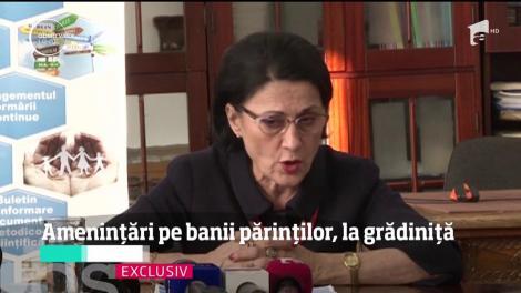 Educatoarele dintr-o grădiniță de stat, din București, fac afaceri pe banii părinţilor, iar amenințările la adresa copiilor sunt la ordinea zilei