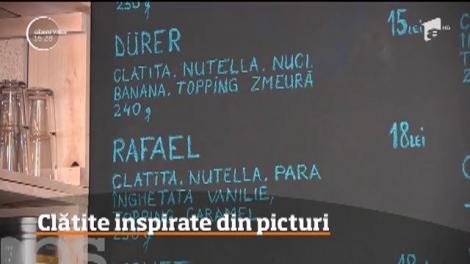 Reţeta clătitelor, cel mai simplu desert preferat de români, a fost reinventată de doi tineri