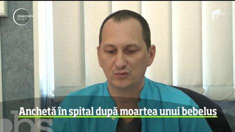 Anchetă la spitalul de pediatrie din Ploieşti, după ce un bebeluş a murit la câteva ore după ce a ajuns acolo