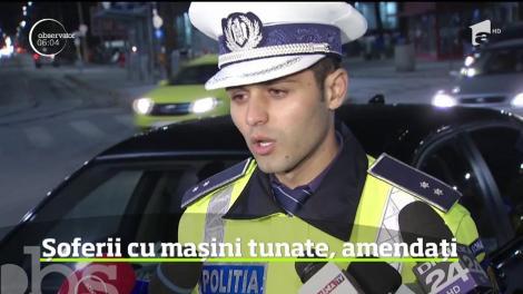 Poliţiştii de la Rutieră au pornit să vâneze şoferi de maşini tunate. În ultima perioadă, tot mai mulţi bucureşteni s-au plâns de zgomotul infernal pe care îl fac