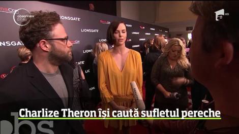Charlize Theron își caută sufletul pereche