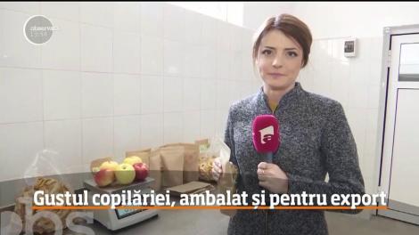 Un tânăr antreprenor din Iaşi a făcut o afacere cu scrijele de mere