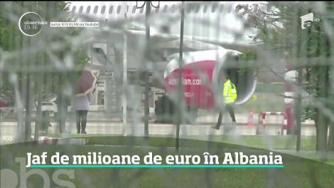 Jaf ca-n filme pe un aeroport din Albania!