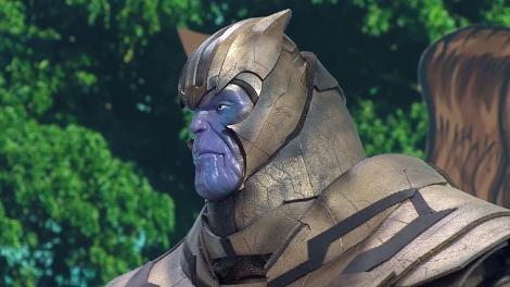 Întâlnire pe nevăzute, la Scena Misterelor. Crina Matei a vrut să se cupleze cu Thanos!