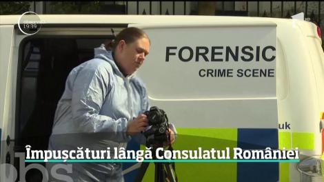 S-au tras focuri de armă în apropierea Consulatului României la Londra