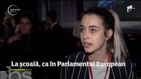 Tinerii pasionaţi de o carieră diplomatică s-au reunit pentru a simula activitatea Parlamentului European