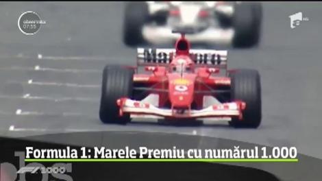 Cursa cu numărul 1000 din Formula 1 are loc la Shanghai