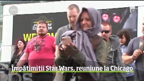 Congresul Star Wars Celebration a fost organizat la Chicago