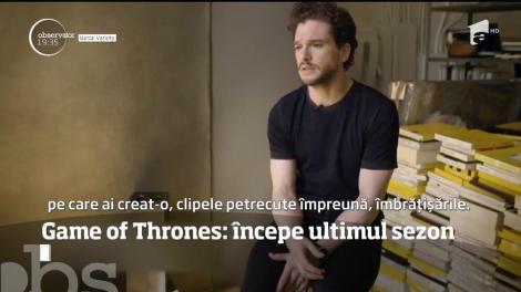 Începe ultimul sezon din Game of Thrones