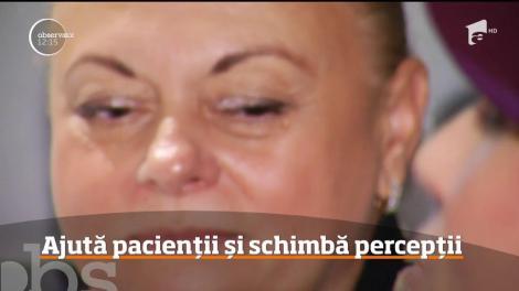 Victoria Asanache, o femeie cu o meserie unică în România. Ea este singurul navigator de pacienți care le întinde o mână de ajutor bolnavilor de cancer