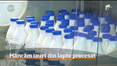 9 din 10 iaurturi vândute în supermarket sunt nesănătoase! Au lapte procesat și cu adaos de proteine