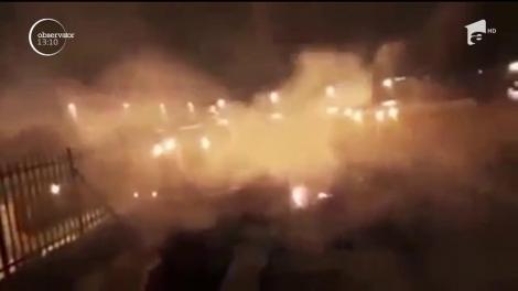 Moscheea Al-Aqsa din Ierusalim, în flăcări