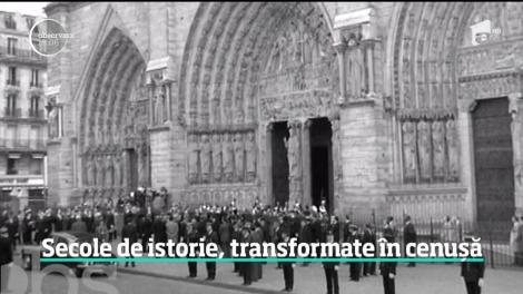 Incendiul de la catedrala Notre Dame, val uriaş de emoţie. Au fost donați 600 de milioane de euro, de patru ori mai mult faţă de cât s-a estimat că ar costa refacerea catedralei