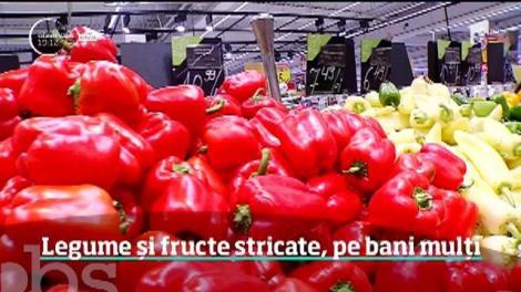 Legume și fructe stricate, pe bani mulți. Inspectorii de la Protecţia Consumatorului au golit rafturile de 15 tone de marfă