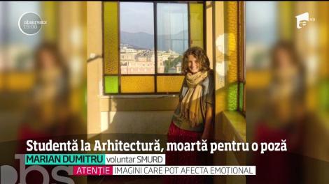 Sfârşit cumplit pentru o studentă la arhitectură. Tânăra a murit electrocutată în timp ce făcea o fotografie într-un depou din Capitală