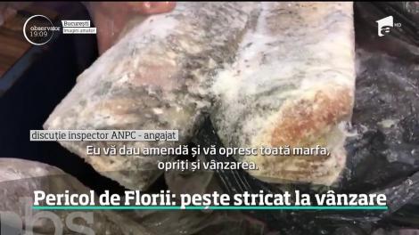 Pericol de Florii: pește stricat la vânzare! Tone de macrou, hering, cod sau crap au fost retrase de la rafturi