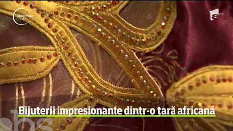 Bijuterii impresionante din aur, din Senegal, tema unei expoziţii la un muzeu din Washington
