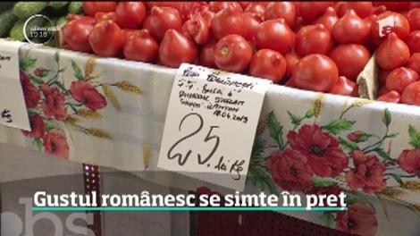 Au apărut legumele româneşti în pieţe. Preţurile, de trei ori mai mari decât pentru legumele din import