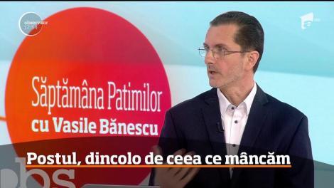 A început Săptămâna Patimilor. Vasile Bănescu, purtătorul de cuvânt al Patriarhiei Române, a venit în platoul Observator pentru a ne explica ce înseamnă Săptămâna Mare