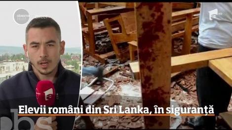 Eleve din Iași, clipe de panică în Sri Lanka! Ce li s-a întâmplat în momentul atentatelor