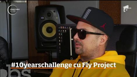 #10yearschallenge. Cum arăta trupa Fly Project acum 10 ani și cum au evoluat