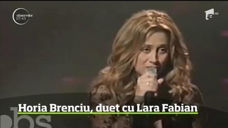Horia Brenciu va canta alaturi de Lara Fabian in show-urile pe care artista le va sustine la Sala Palatului