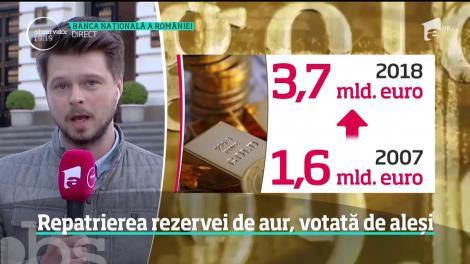 Aurul României se va întoarce în ţară