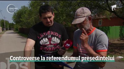 Românii, confuzi înainte de referendum