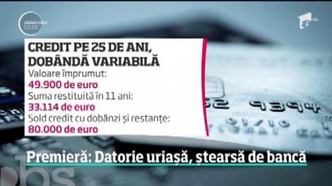 O învăţătoare a reuşit să-i convingă pe bancheri să-i şteargă o datorie de 44 de mii de euro