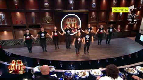 Familia lui Nea Mărin, show în bucătărie. După un dans, jurații Chefi la Cuțite au parte de amenințări!: Dacă nu primesc patru cuțite...