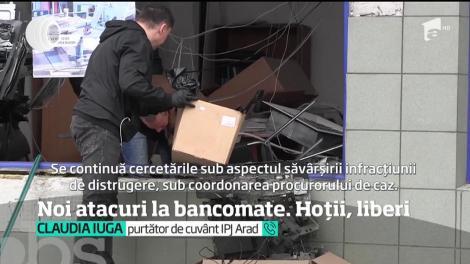 Revin jafurile după metoda explozie la bancomat