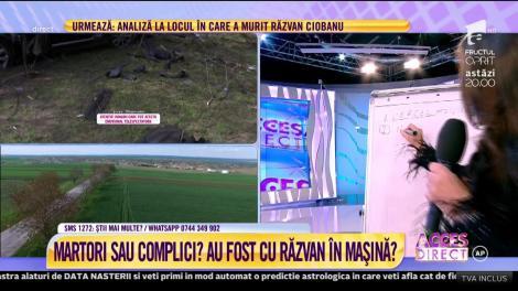 Răzvan Ciobanu era singur în maşină? Mara Bănică: Unde este domnul Cercel?