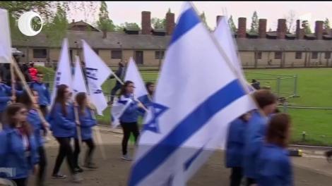 Victimele Holocaustului, comemorate de mii de persoane