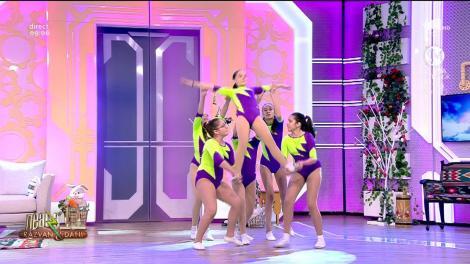 Fetele de la Academia Campionilor, super show în platoul Neatza cu Răzvan și Dani!