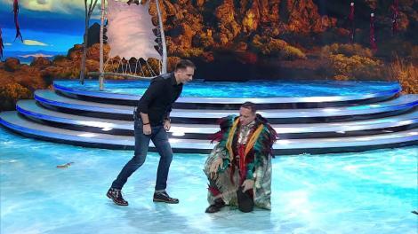 Demascarea Indianului. Vedeta din spatele măștii este un cunoscut actor român