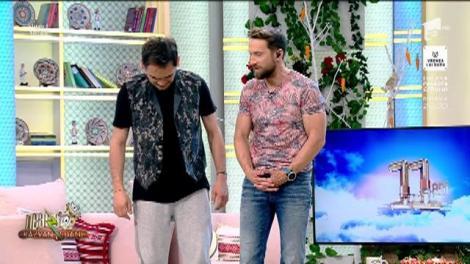 """Momentul adevărului! Răzvan Simion și Dani Oțil și-au măsurat, în direct...brațele! """"Tu nu ești zgârcit, doar nu ajungi la buzunare"""""""