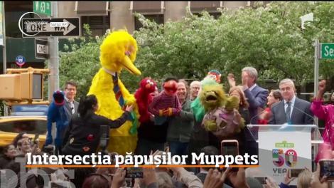O intersecţie din centrul New York-ului a fost botezată permanent Sesame Street