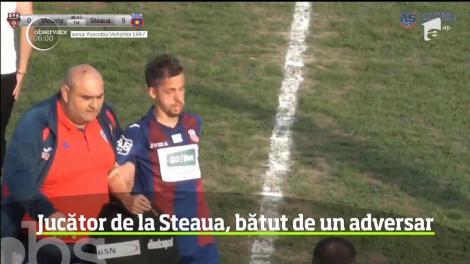 Bătaie pe terenul de fotbal, la meciul dintre Victoria şi CSA Steaua Bucureşti