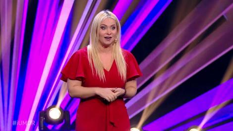 """Paula Chirilă îi ia la """"roast"""" pe cei trei jurați iUmor: Mihai, te-am văzut de multe ori la teatru, niciodată pe scenă!"""